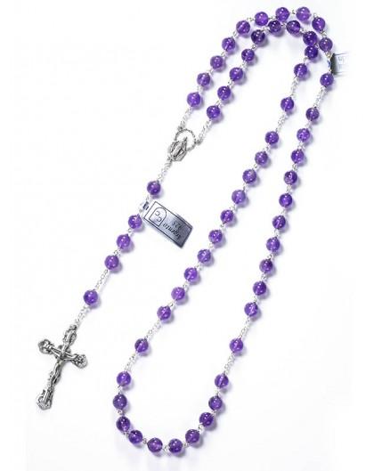 Amethyst Rosary 6mm beads