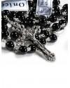 Black Onyx Rosary 6mm beads
