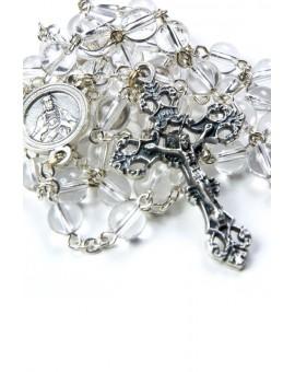 Clear Quartz Rosary