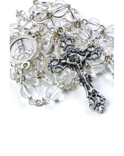 Clear Quartz Rosary