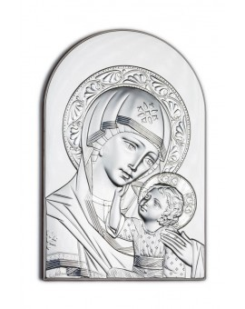 Virgin Mary Bilaminate Sterling Silver 0830