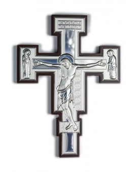 Crucifix Bilaminate Sterling Silver 0792