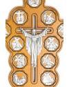 Light Wood Via Crucis