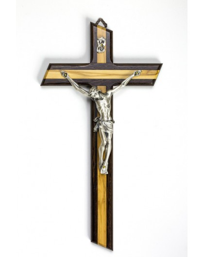 Light and Dark wood Crucifix