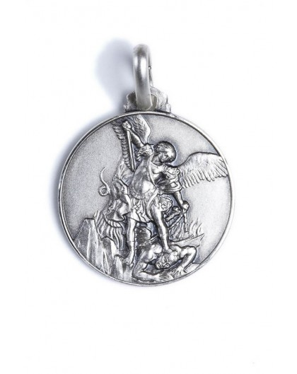 protect me necklace saint medal shield archangel st women men pendant inventorybag products michael protection