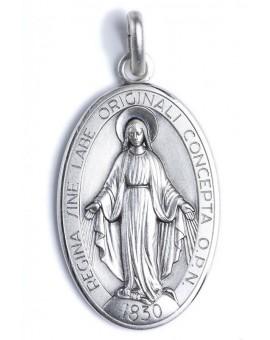 Miraculous Medal rear