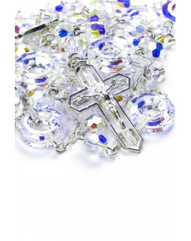 Swarovski crystal Circle Paters Rosary