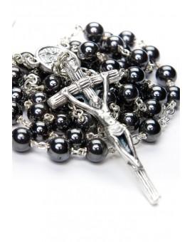 Benedict XVI Hematite Rosary