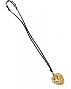 Ex Voto - Gratia received heart Necklace gold