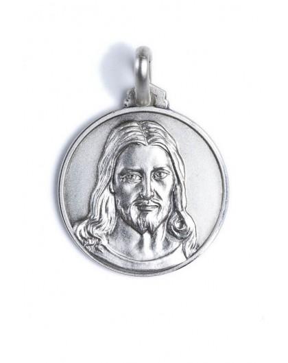 Christ's face medal