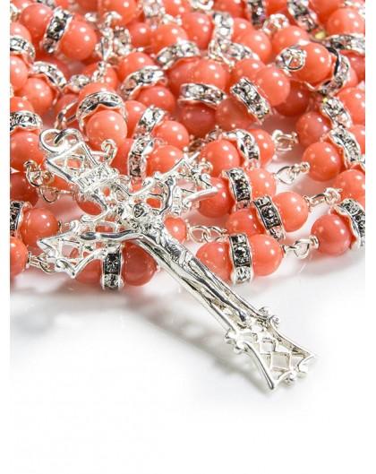 Precious Swarovski Crystal Rosary Cube Beads