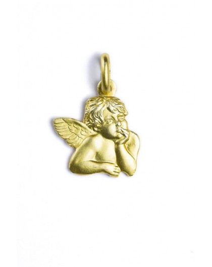 Guardian Angel Gold Plated pendant
