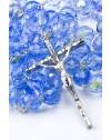 Sky crystal big Rosary