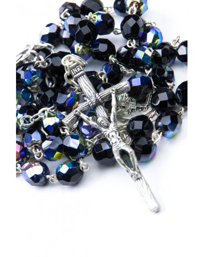 Four Basilicas Black Rosary