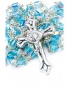 Light Sky crystal drop Rosary