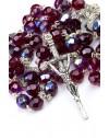 Four Basilicas Garnet Rosary