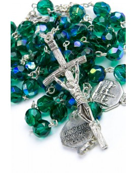 Four Basilicas Green Rosary