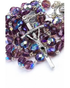Four Basilicas Violet Rosary