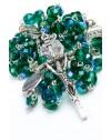 Four Basilicas Green Rosary small