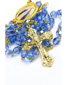 Our Lady Sky Blue Rosary