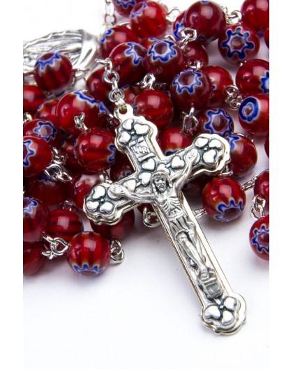 Murrina Red Rosary