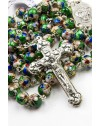 Green Cloisonne Rosary