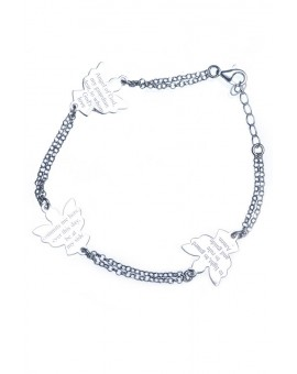 Guardian Angel Sterling Silver 925 Bracelet