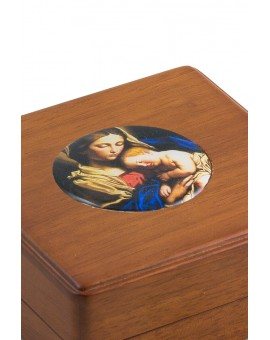 Renaissance Madonna Rosary Box