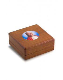 John Paul II Rosary Box