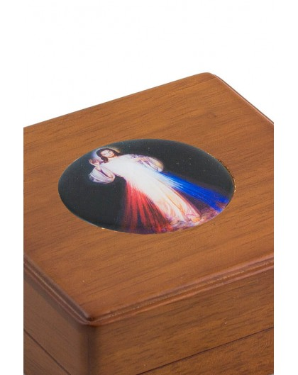 Divine Mercy wooden box