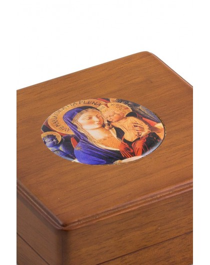Virgin Mary Icon Rosary Box