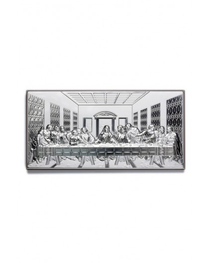 Last Supper Bilaminate Sterling Silver 0800