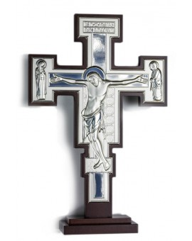 Crucifix Bilaminate Sterling Silver 0801