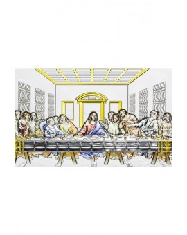 Last Supper Bilaminate Sterling Silver 0807