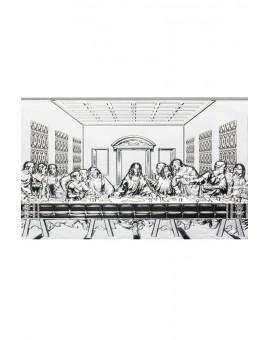 Last Supper Bilaminate Sterling Silver 0805
