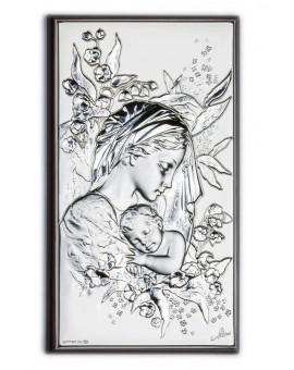 Sleeping Jesus Baby Bilaminate Sterling Silver 2649