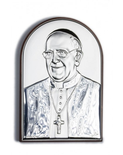 Pope Francis Bilaminate Sterling Silver 0816