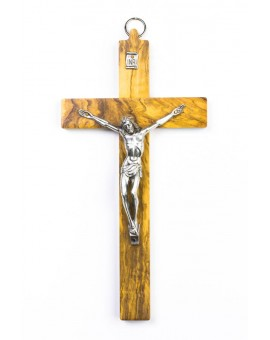 Olive Wood Crucifix small