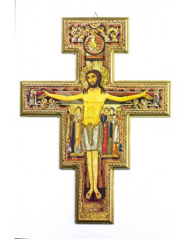 San Damiano Wooden Crucifix Big