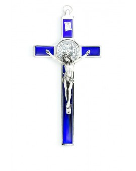 St. Benedict Crucifix Blue