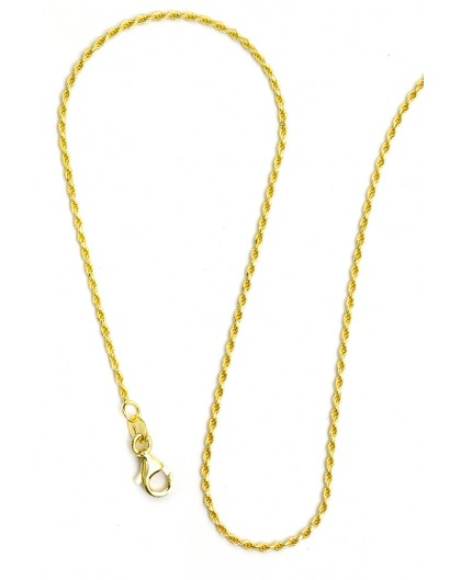 Gold Plated Sterling Silver chain 02