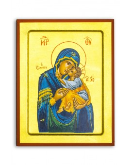 Virgin Mary and Jesus Child Icon