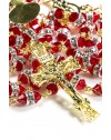 Gold and Red Crystal Luxury Christmas Gift