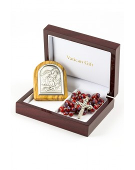 Murrina Red and Silver Icon Christmas Gift
