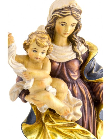 Virgin Mary Blue - Height: 40 cm - 15,7 inches