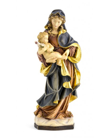 Baroque Virgin Mary Red -  Height: 40 cm - 15,7 inches