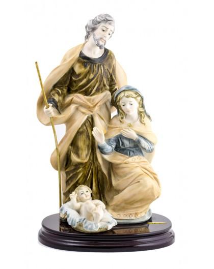 Terracotta handpainted Nativity