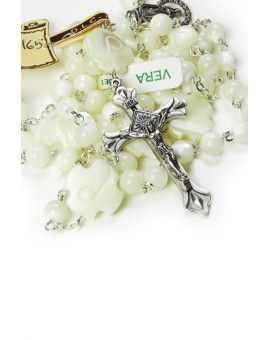 Mother of Pearl Rosary with Cross Paters