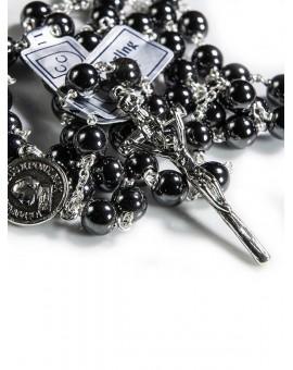 John Paul II Precious Hematite Rosary