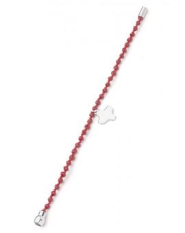 Crystal Bracelet - Red - Magnetic clip